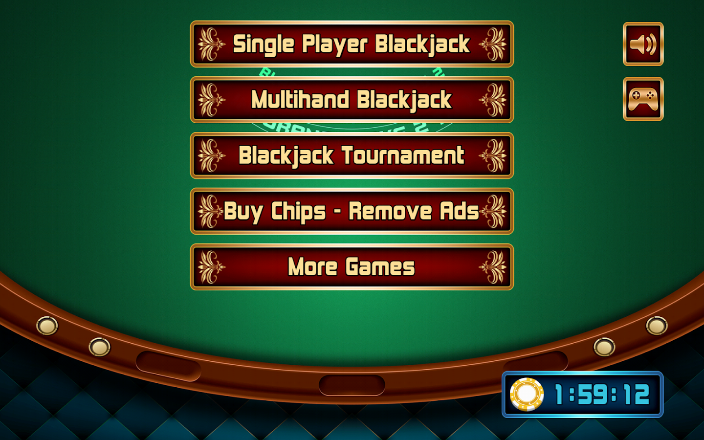 Black jack internet casino